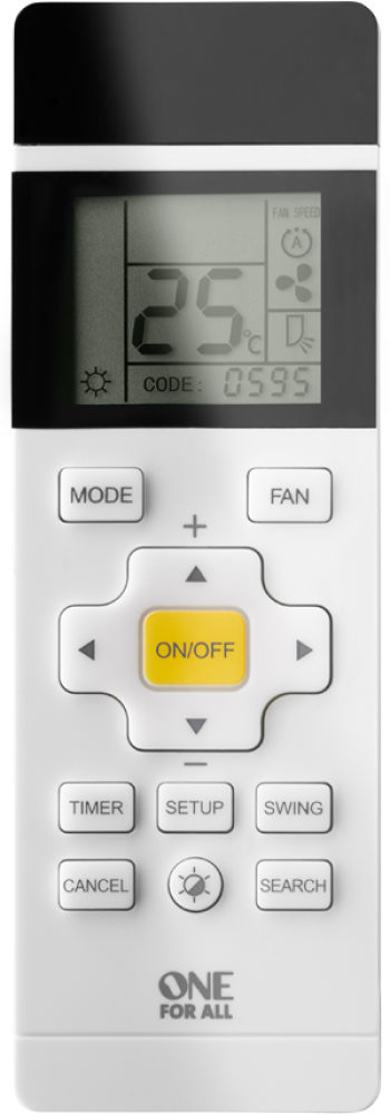 Air Conditioning Universal Remote Control by One For All